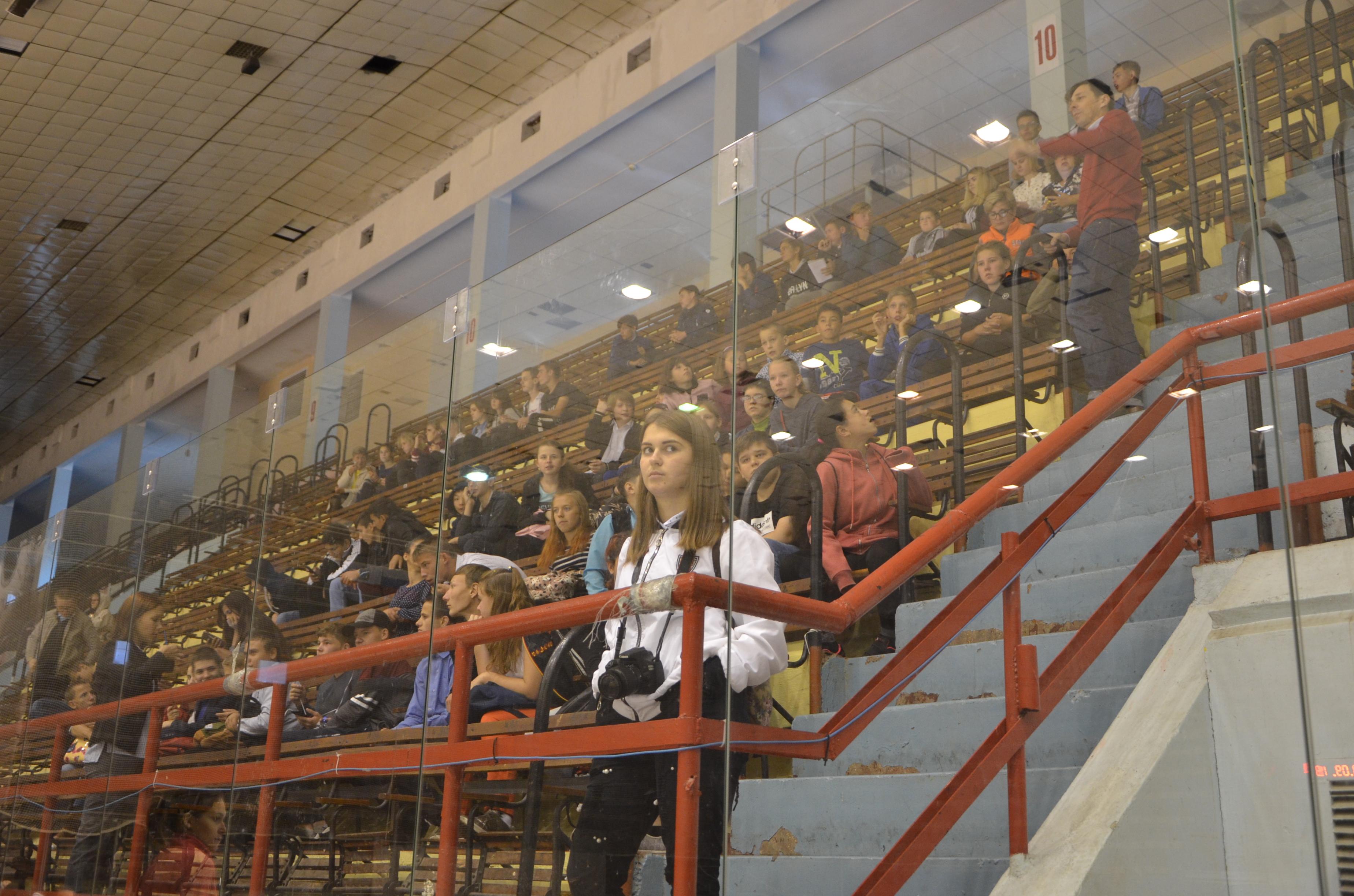 В Саратове состоялся мастер-класс по следж-хоккею