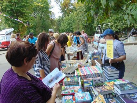 Муниципальные библиотеки приняли активное участие в праздновании Дня города