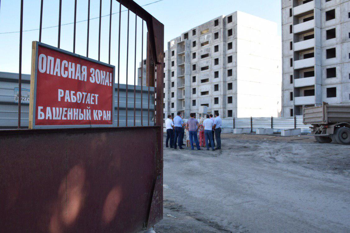 Михаил Исаев совершил инспекционный выезд по строительным площадкам, на которых возводятся соцобъекты