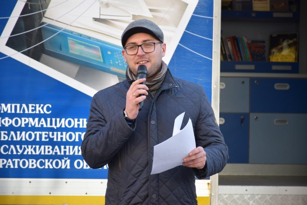В преддверии 8 марта состоялась акция «Литературные чтения в Саратове»