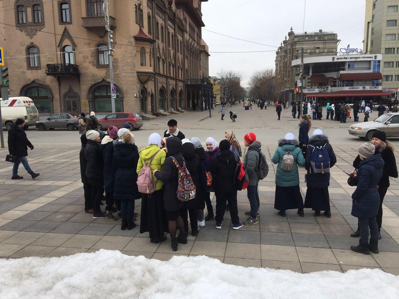 Саратовцы принимают участие в экскурсиях