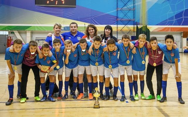 СШОР № 14 «Волга» стала победителем Кубка Казани