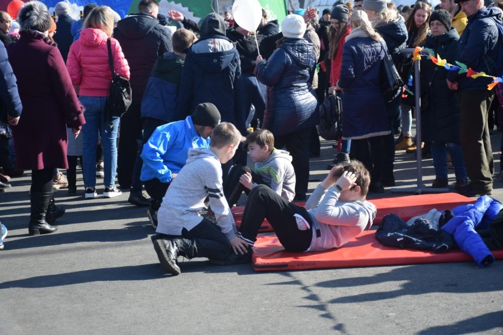 На Театральной площади состоялся концерт, посвященный празднованию Масленицы