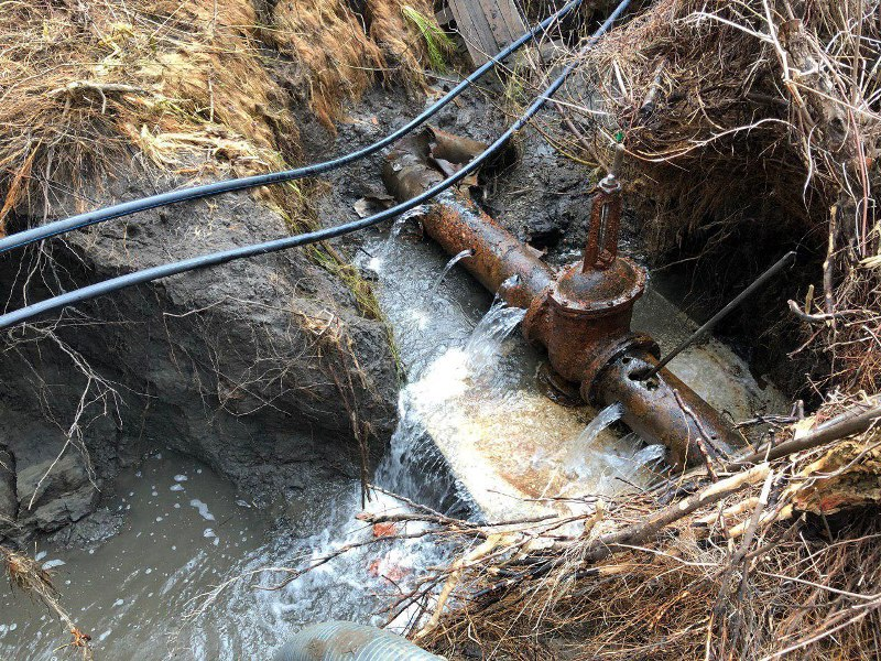 ООО «Концессии водоснабжения – Саратов» выполнили вскрышные работы на магистральном водопроводе