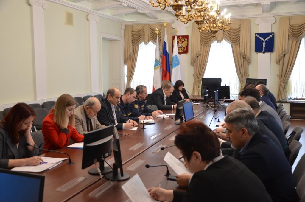 В администрации города состоялось заседание общественной комиссии по реализации приоритетного проекта «Формирование комфортной городской среды»