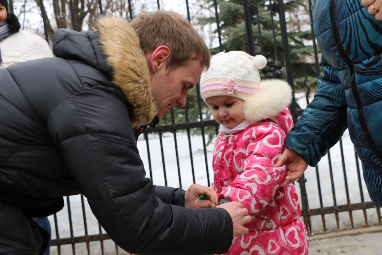 Сегодня в Саратове состоялась акция «Крымская весна», посвящённая 5-летию воссоединения Крыма с Россией
