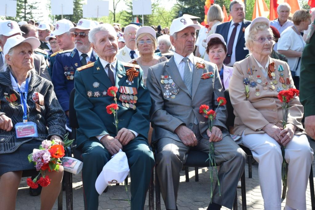 На Соколовой горе состоялся торжественный митинг-концерт, посвященный Дню Победы