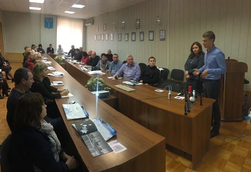Для руководителей и специалистов предприятий города прошел обучающий семинар по охране труда