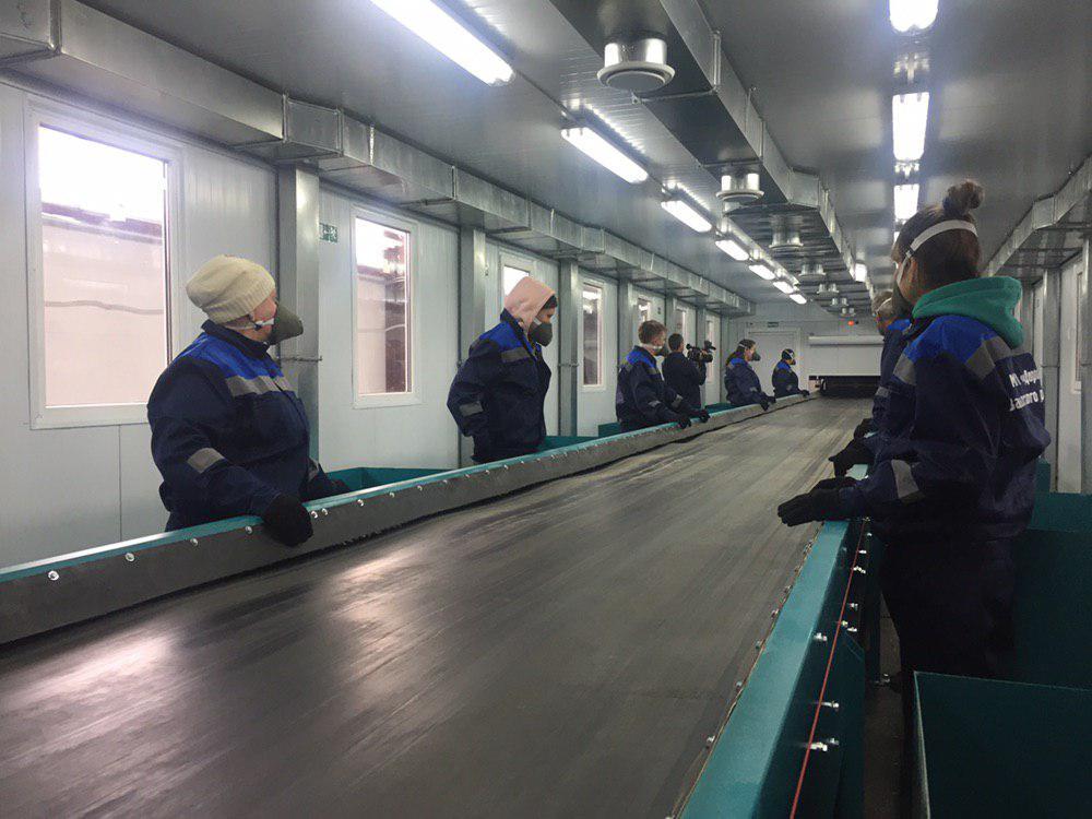 В Саратове готовят к открытию мусоросортировочный завод