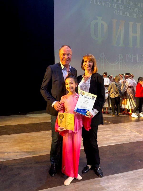 Учащаяся ДШИ имени В.В. Ковалева стала Лауреатом I степени в финале Национальной премии