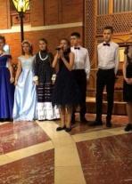 Учащаяся Детской музыкальной школы №19 приняла участие в торжественном открытии XVI Международного фестиваля «Москва встречает друзей»