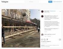 Михаил Исаев: «Начались работы по ограждению здания бывшей гостиницы «Россия»