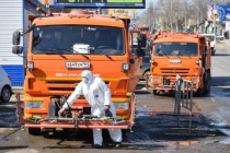 Коронавирус. С сегодняшнего дня началась дезинфекция улиц Саратова с использованием спецсредств