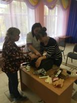 В муниципальном дошкольном общеобразовательном учреждении прошел семинар-тренинг по оказанию первой помощи