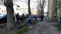 Октябрьский район готовится к майским праздникам