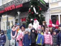 Во Фрунзенском районе состоялись театрализованные представления, посвященные празднику Рождества