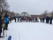 Состоялись соревнования по лыжным гонкам среди учащихся общеобразовательных учреждений