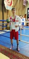 Саратовский боксер стал лучшим в регионе