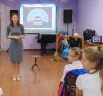 В Центральной городской библиотеке прошла арт-встреча «Дом  кукольного театра»