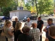 Очередная встреча с собственниками помещений в жилых домах прошла в Октябрьском районе