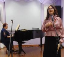 В литературно-музыкальной гостиной Центральной городской библиотеки состоялась программа «Музыка весеннего цветения»