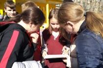 Учащиеся Ленинского района приняли участие в военно-патриотической игре «Зарница»