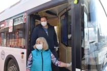 Коронавирус. Представители администрации Саратова и городской Думы проинспектировали работу общественного транспорта