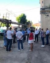 И.о. главы администрации Волжского района провел встречу с жителями  дома № 32 по ул. Московской