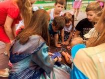 Городской дом культуры национального творчества продолжает цикл мероприятий в Сквере Дружбы народов