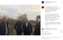 Михаил Исаев побывал на месте проведения аварийных работ на водоводе
