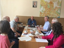 В  администрации района состоялось заседание Общественного Совета Кировского района