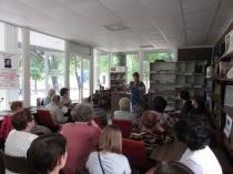 В читальном зале сада «Липки» прошел литературно-театральный вечер «Гоголь в жизни: известный, неизвестный, загадочный»