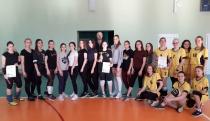 Прошли соревнования по волейболу среди команд девушек, обучающихся в школах Волжского района