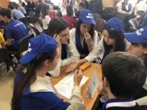 Состоялся  отборочный этап городского чемпионата  по игре «Что? Где? Когда?» среди учащихся муниципальных общеобразовательных учреждений