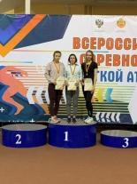 Саратовские легкоатлеты в призерах первенства и чемпионата ПФО