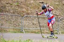 Саратовская биатлонистка продолжает завоевывать медали Чемпионата и Первенства России по летнему биатлону