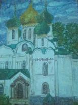 Учащиеся и преподаватели Детской школы искусств № 10 отчитались о поездке на Владимиро-Суздальский пленэр