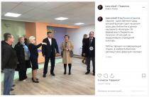 Михаил Исаев проверил ход реконструкции муниципальных библиотек