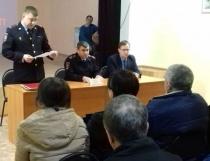 В клубе «Парус» состоялся сход граждан Волжского района