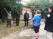 Состоялась встреча представителей администрации Волжского района с жителями дома №7 по ул. им. Челюскинцев