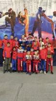 Саратовские кикбоксеры выступили на «Moscow Open»