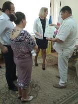 Состоялась торжественная церемония регистрации новорожденных
