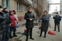 В Заводском районе состоялась встреча с жителями