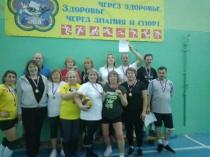 В Ленинском районе прошел турнир по волейболу среди ветеранов волейбольного движения