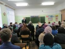По поручению главы города Михаила Исаева прошла очередная встреча с жителями Заводского района