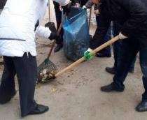В Саратове состоялся санитарный день